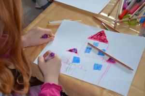 Vorbereitung für das Hörspiel in einer Erfurter Grundschule